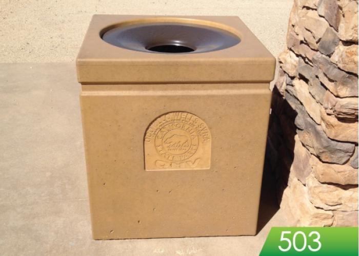 503 / 503R - Square Receptacle